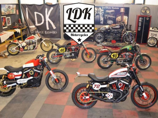 Lord Drake Kustoms and American Rider work together